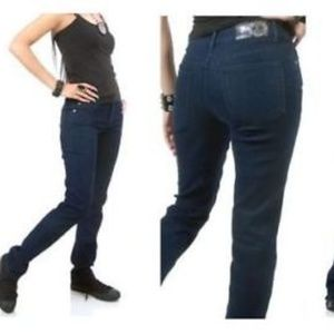 Lip Service Jeans - Lip Service Junkie Indigo Jeans Rockabilly Goth